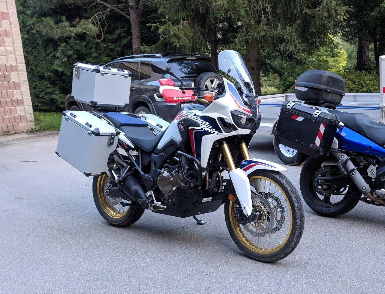 Bumot, Jesse, or Touratech Zega? - Honda CRF1000L Africa