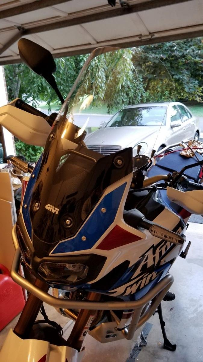 Just Got My AT Adventure - Honda CRF1000L Africa Twin Forum