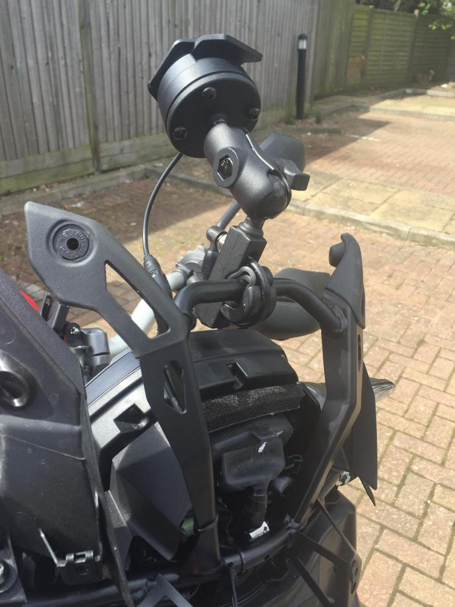 Help with Tom Tom rider mounting - Honda CRF1000L Africa