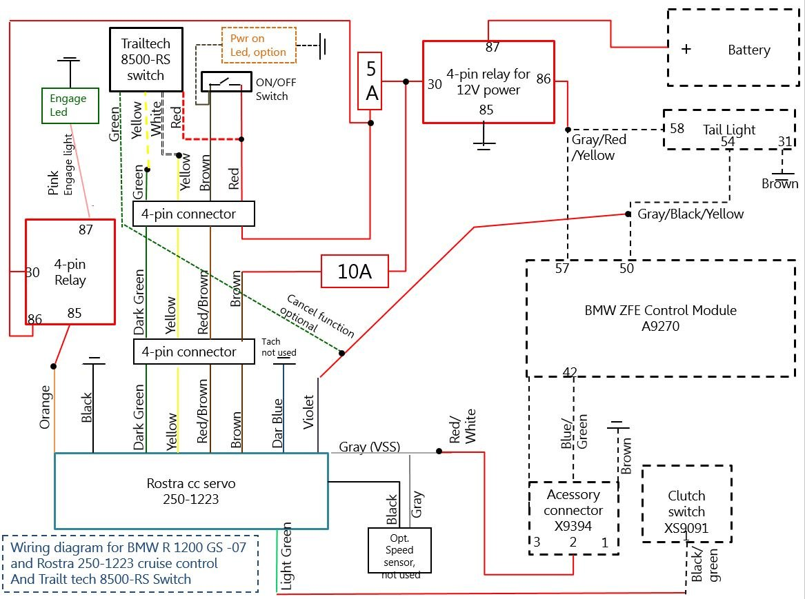 Proper Cruise Control Available Now Honda Crf1000l Africa Twin General Diagram Click Image For Larger Version Name Rostra On Bmw R 1200 Gs 07